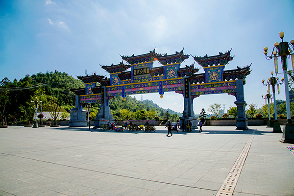 桂阳县文化园.图片来源:郴州文明网