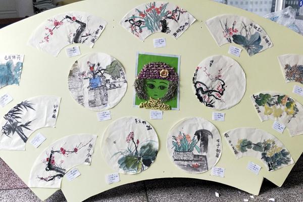 郴州市五完小:争做新时代好少年 书画才艺展风采图片