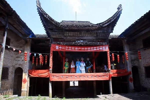 郴州桂阳古戏台文化展传统魅力风采 受到媒体追捧